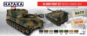 US Army paint set (MERDC camouflage)