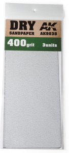 DRY SANDPAPER 400
