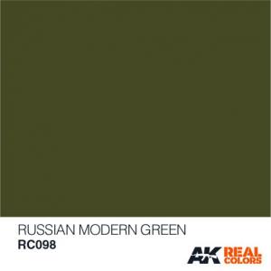 Russian Modern Green