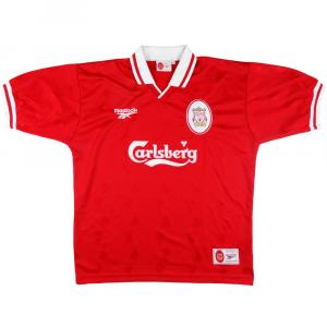 1996-98 Liverpool MAGLIA HOME L (Top)