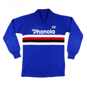1983-85 Sampdoria Maglia Home (Top)