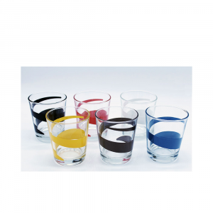 Italian Decor Bicchiere Gaston Vortice  6Pezzi