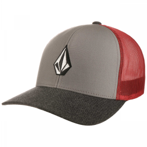 Cappello Volcom Full Stone ( Grey/Red )