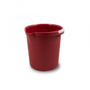 Belli E Forti Secchio Plastica Rosso 10Litri
