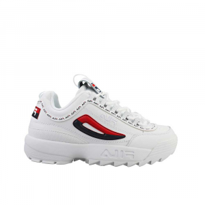 Fila Disruptor 2 Premium Navy Red da Donna