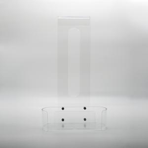 Ghost, Porta oggetti per doccia trasparente in plexiglas