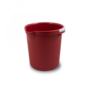 Belli E Forti Secchio Plastica Rosso 12Litri