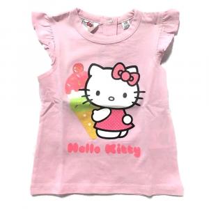 T-shirt rosa HELLO KITTY a manica corta neonata - 6 mesi e 12 mesi