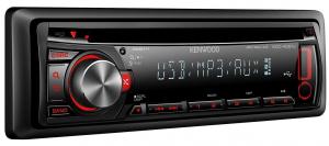 AUTORADIO KENWOOD KDC-4051UR con USB e AUX frontale