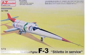 F-3 Stiletto In Service