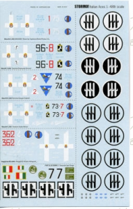 Italian WWII Aces part 3