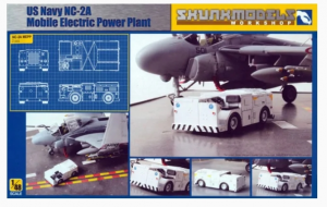 US Navy NC-2A Mobile Electric Power Plant SKUNKMODELS 48021