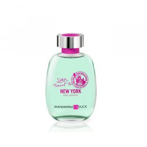 Mandarina Duck Let's Travel To New York Women Eau De Toilette Spray 100ml