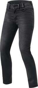Jeans moto donna Rev'it Victoria Ladies L30 Grigio Medio Slavato