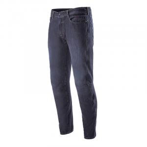 Jeans moto Alpinestars VICTORY con rinforzi in fibra aramidica  Rinse Blu