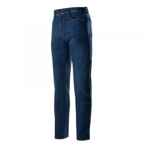 Jeans moto Alpinestars COPPER V2 Mid Tone Plus Blu