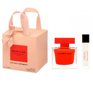 Narciso Rodriguez Rouge Eau De Parfum Spray 90ml Set 2 Pieces 2020
