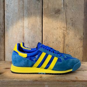 Scarpa Adidas SL 80 Azzurra Gialla e Blu