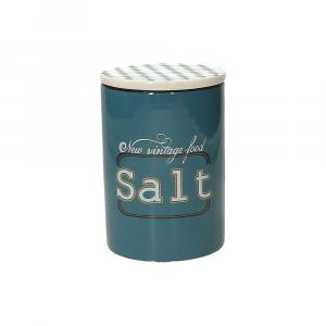 Tognana Barattolo Sale Ceramica Blu