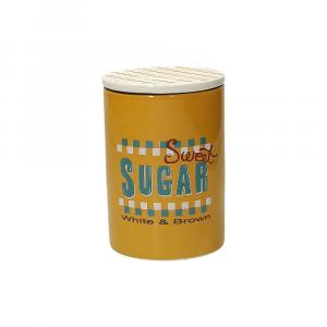 Tognana Barattolo Zucchero Ceramica Giallo