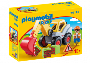 PLAYMOBIL ESCAVATORE 1.2.3. 70125