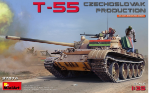 T-55 Czechoslovak Production
