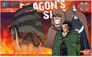 ONE PIECE GRAND SHIP COLL DRAGON SHIP