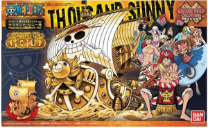 ONE PIECE GRAND SHIP COLL THOUSN S GOLD