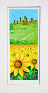 SCIARRANO MIMMO Serigrafia Formato  cm 36x18