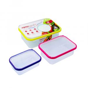Omada Kit 3 Frigo Box Rettangolari Multicolore