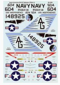 North American RA-5C Vigilante SuperScale International 48-1005