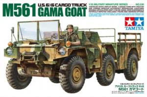 U.S. 6X6 CARGO TRUCK M561 TAMIYA 35330