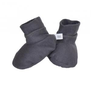 Scarpette babbucce neonato Bamboom Dark Grey