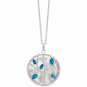 Collana albero della vita in argento julie julsen