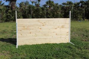 Salto obbedienza igp (struttura in alluminio, assi in legno)