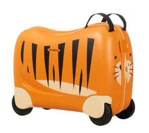 Valigia per bambini cavalcabile SAMSONITE DREAM RIDER Tiger Toby