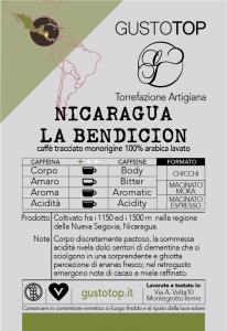 Caffè monorigine in cialda Nicaragua - Pacamara La Bendicion, confezione da n. 25 cialde in carta ese 44 mm compatibili
