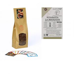 Caffè monorigine in grani Nicaragua - La Bendicion confezioni disponibili: 1 Kg, 500 grammi e 250 grammi