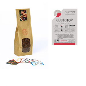Miscela di caffè in grani GustoTop ( 85% arabica 15% robusta) confezione da 1 Kg