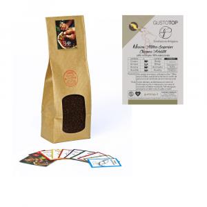 Caffè monorigine Mexico Altura Superior  Chiapas Adelita macinato per moka ed espresso, confezione da 250 grammi
