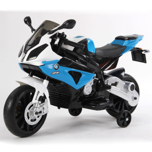 Moto Elettrica Bambini BMW S1000RR 12V Blu