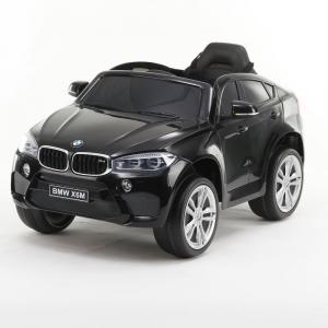 Auto Elettrica Bambini BMW X6 M 12V Nera
