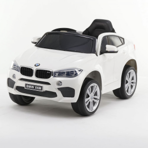 Auto Elettrica Bambini BMW X6 M 12V Bianca
