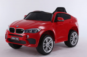 Auto Elettrica Bambini BMW X6 M 12V Rossa