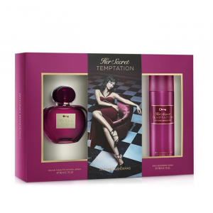 Antonio Banderas Her Secret Temptation Eau De Toilette Spray 80ml Set 2 Parti 2020
