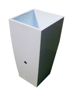Thai System Vaso Anti Zanzare  diametro 25 cm colore bianco