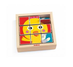 DJECO  TOURNAFERME 3 PUZZLE IN LEGNO 9 PZ DJ01954