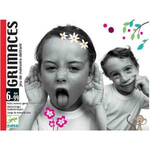 DJECO  GIOCO DI CARTE - GRIMACES DJ05169