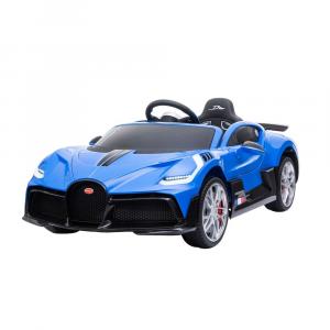 Auto Elettrica Bambini 12 Volt Bugatti Divo Blu