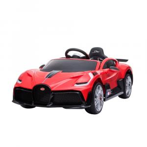 Auto Elettrica Bambini 12 Volt Bugatti Divo Rossa